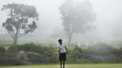 US Open tees off after 90-minute fog delay at Torrey Pines