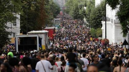 London's Notting Hill Carnival scrapped again due to Covid-19