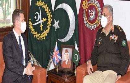 Pakistan values UK's balanced role in global, regional affairs: COAS