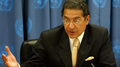 ECOSOC chief Munir Akram stresses Parliaments' cooperation in implementing SDGs