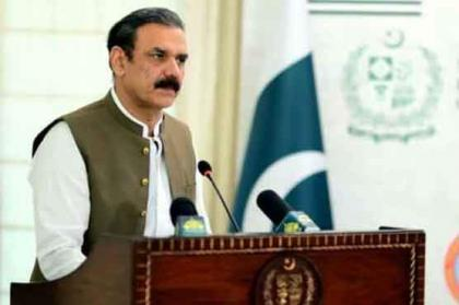Chairman Senate called on Asim Bajwa to discuss ongoing CPEC projects