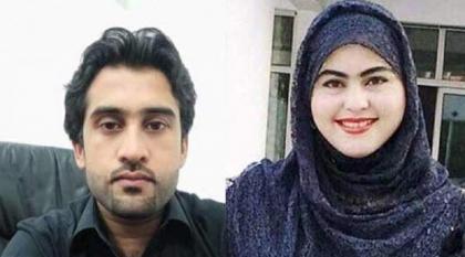 اعدام شاب قتل طالبة الطب بعد أن رفضت الزواج منہ فی مدینة بشاور