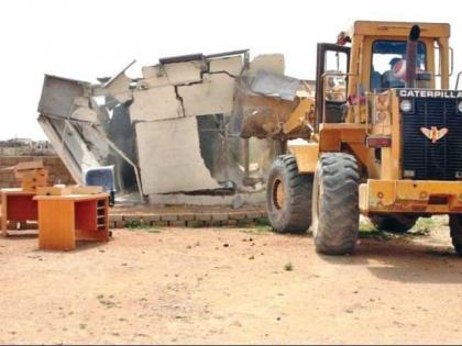 Anti-encroachment operation continues despite resistance