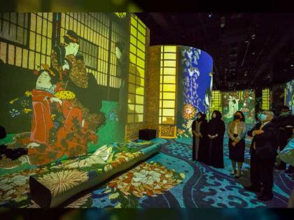 Latifa bint Mohammed opens GCC's largest immersive digital art centre
