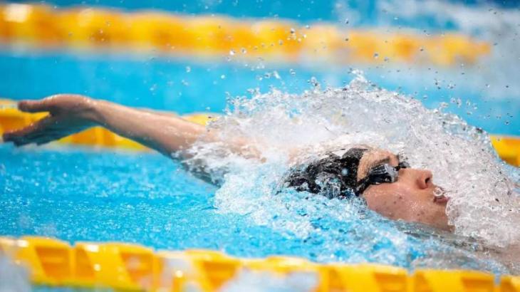 Swim star Hagino keeps chin up amid struggles