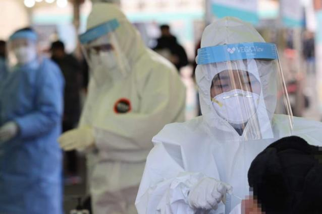 S. Korea reports 454 more COVID-19 cases, 145,091 in total