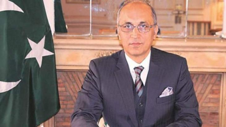 Pakistan's favourable business environment to attract more Chinese enterprises: Ambassador Moin