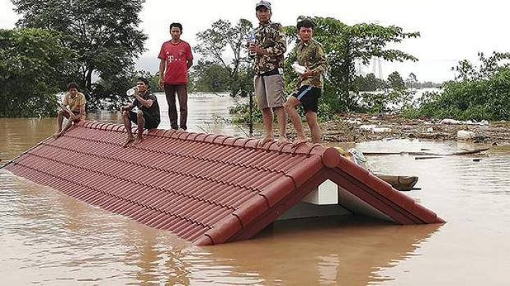 Lao gov't speeds up recovery efforts in flood-hit southern province
