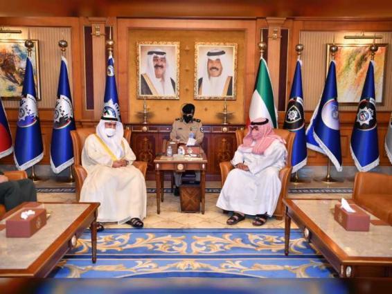UAE Ambassador, Kuwaiti Interior Minister discuss cooperation