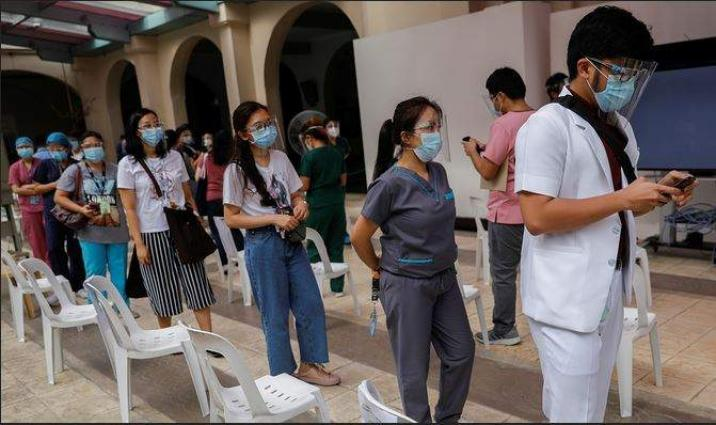 Philippines logs 7,485 new COVID-19 cases, total rises to 1,293,687