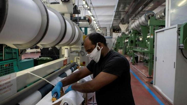 Italy's industrial production back to pre-Covid levels