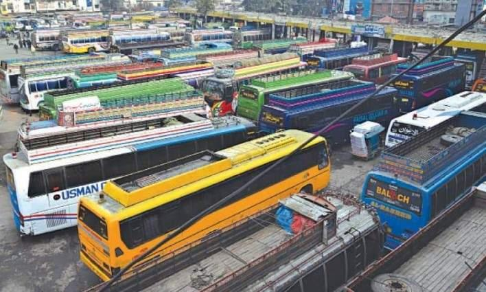 Illegal building of bus stand sealed