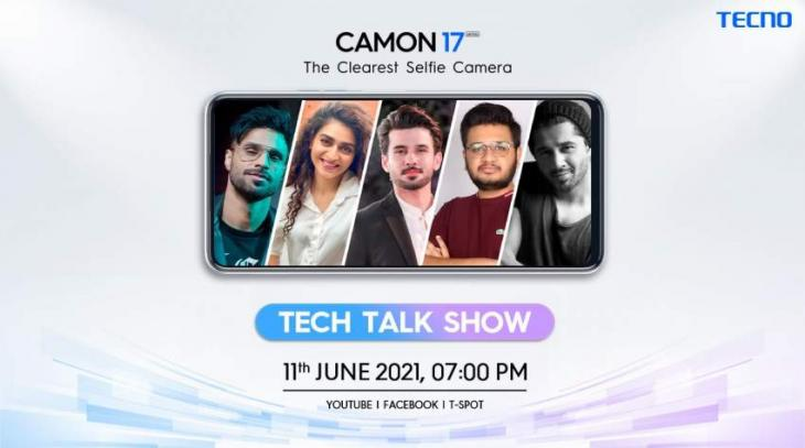 TECNO to hold a Tech Talk Show for the launch of the Camon 17 series