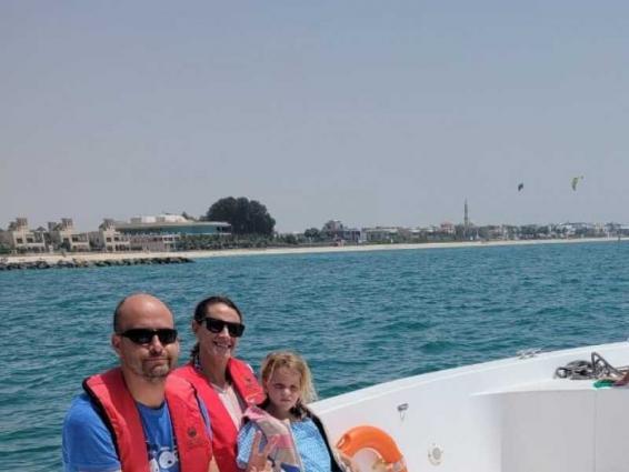 Dubai Police rescues Spanish family