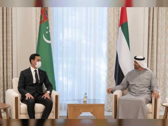 Mohamed bin Zayed receives message from President of Turkmenistan