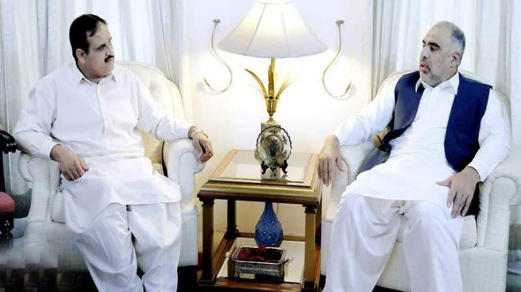Speaker NA meets CM, lauds welfare projects in Punjab