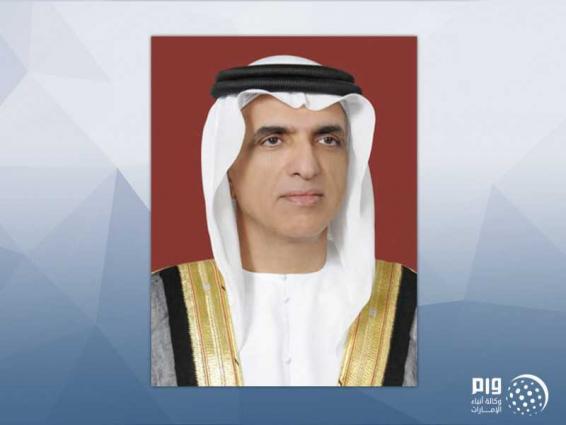 حاكم رأس الخيمة يعزي أمير الكويت في وفاة الشيخ منصور الأحمد الجابر المبارك الصباح