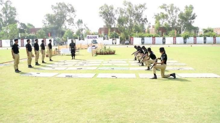 Passing out ceremony of 1163 constables held at Police Training School Rawat