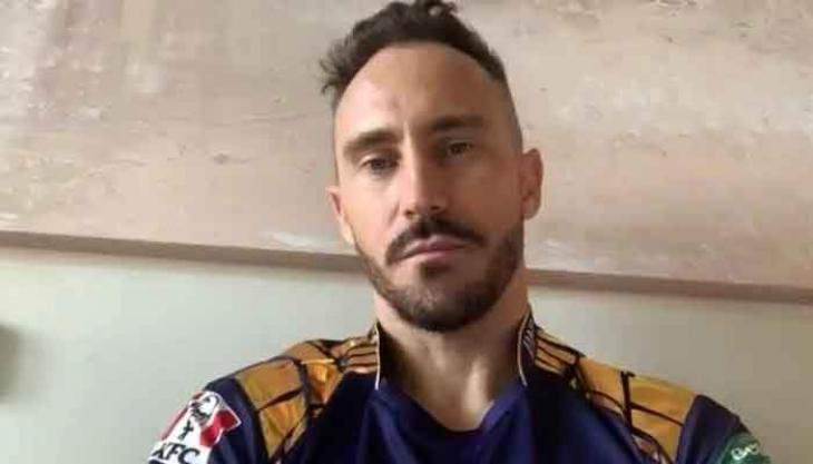PSL 6: Faf du Plessis will not play today's match against Lahore Qalandars