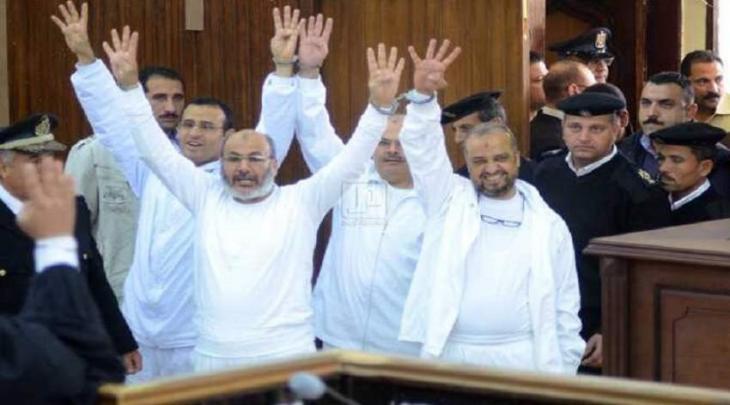محکمة السیسي تحکم الاعدام بحق 12 شخصا من قیادات جماعة الاخوان المسلمین