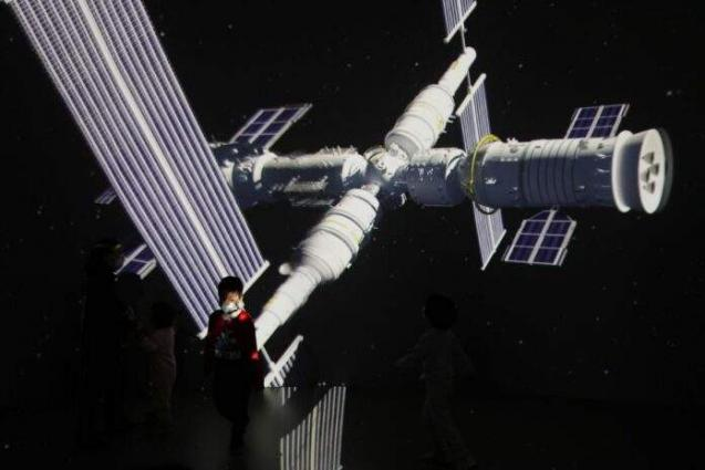 China's crewed spacecraft docks with space station module: officials