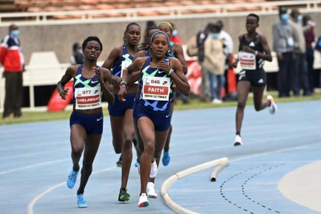 Kasait ends Obiri's two-year win streak at Kenyan Olympic trials
