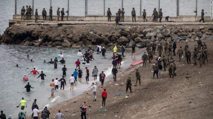 Thousands of migrants still in Spain's Ceuta enclave