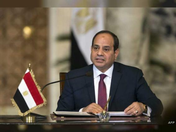 الرئيس المصري يلتقي وزير التجارة السعودي