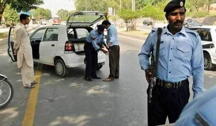Islamabad Police arrests nine outlaws