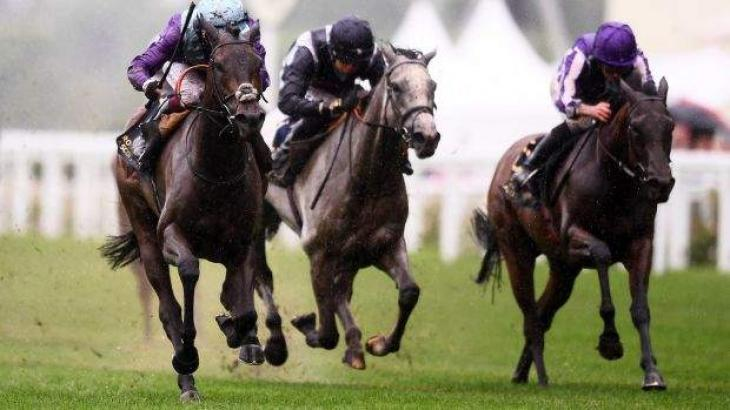 Murphy achieves crowning Royal Ascot moment and is dumped in the mud