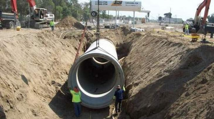 WASA MD for early completion of new sewerage line project