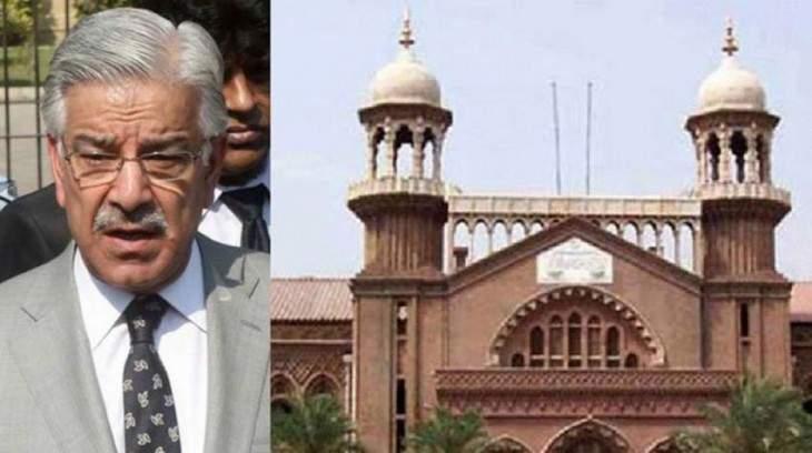 Lahore High Court adjourns hearing of Khawaja Asif's bail plea till June 22