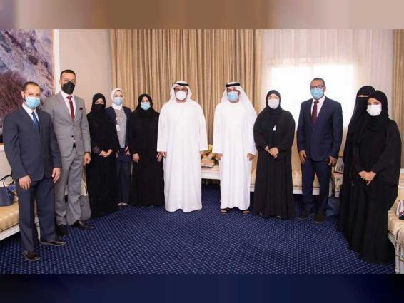 Fujairah Crown Prince reviews Fujairah Environment Authority's strategic plans