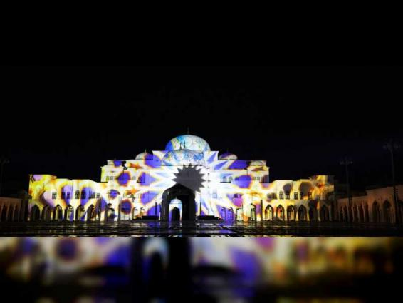 Qasr Al Watan's evening light and sound show: A masterpiece of visuals and narration