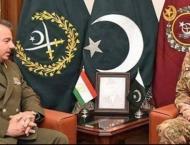 COAS appreciates Tajikistan's efforts