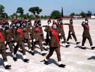 Over 300 ladies constables pass out from Sihala Training College ..