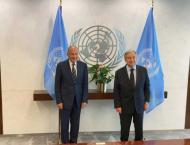 Aboul Gheit, Guterres discuss regional developments