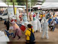 Thailand reports record number of COVID-19 cases for fourth day
