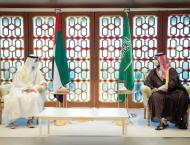 Mohamed bin Zayed, Saudi Crown Prince discuss bilateral ties and  ..