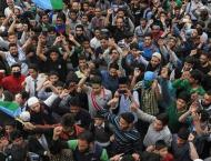 Kashmiris commemorate Kashmir's  Accession to Pakistan Day with r ..