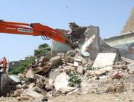 Anti-encroachment operation continues on sixth consecutive day in ..