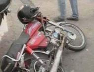 Motorcyclist killed in a road accident