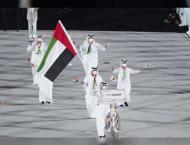 Al Matrooshi bears UAE flag In Tokyo Olympics opening ceremony