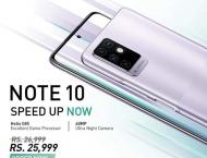 Youth's most favored smartphone Infinix NOTE 10 is now availabl ..