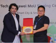 Huawei and Enertech Pakistan signed MoU to develop an Eco-Friendl ..