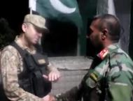 46 Afghan soldiers including five officers amicably returned to K ..