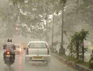 Thundershower with isolated heavy rainfalls forecast