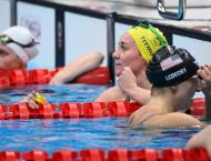 Exhausted Titmus seizes Ledecky's Olympic 200m crown