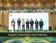 Huawei Digitizes Green Powered Pakistan with FusionSolar Club Pak ..
