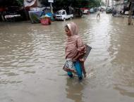 Flash flood in district Swabi disrupts routine life